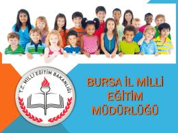 Dyned Tanıtım Sunu - Bursa İl Milli Eğitim Müdürlüğü