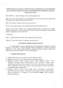 """""""kırım kongo kanamalı ateşi hastalğı"""" hakkında halk eğitiminde"""