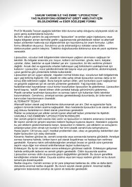Yağ enjeksiyonu - Cosmedic İstanbul