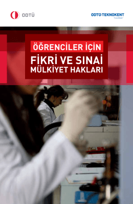 Öğrenciler İçin - Bilgi Transfer Ofisi (BTO)