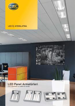 LED Panel Armatür Yükleme Seçenekleri, PDF