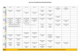 SBA - Spor Bilimleri ve Teknolojisi