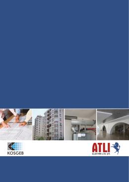 ELEKTRİK LTD. ŞTİ. - atlielektrik.com.tr