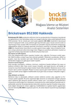 DÖKÜMAN İNDİRLuna Urun Katalogu-brickstream
