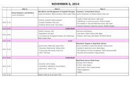 NOVEMBER 6, 2014