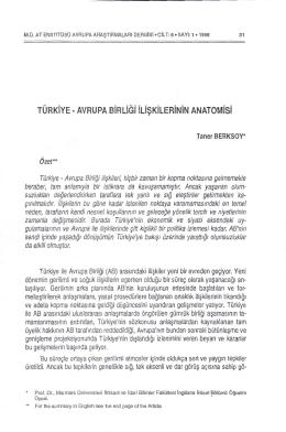 Taner BERKSOY