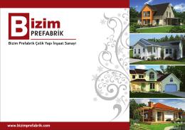bizim-katalog baskı - Prefabrik Ev Konut Villa