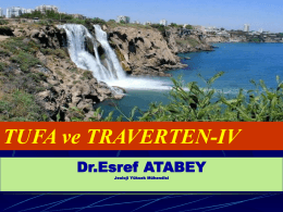 TUFA VE TRAVERTEN-PPT-SUNUM-IV
