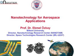Nanotechnology for Aerospace Applications