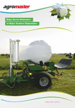 Agromaster - Balya Sarma Makineleri (Bale Wrapping