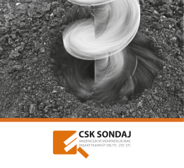CSK Broşür