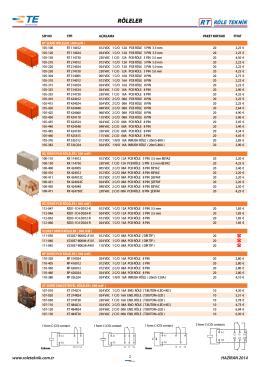 güncel fiyat listesi