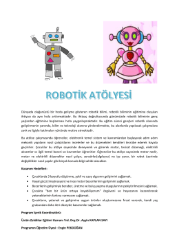 Robotik Atölyesi