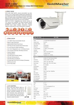 GCR-1385V Broşür