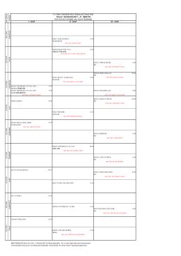 2014-2015 güz arasınav kesinleştirilmiş programı