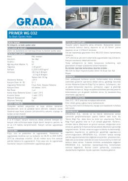Primer WG G 032