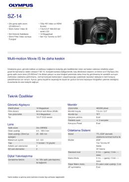 SZ-14, Olympus, Compact Cameras