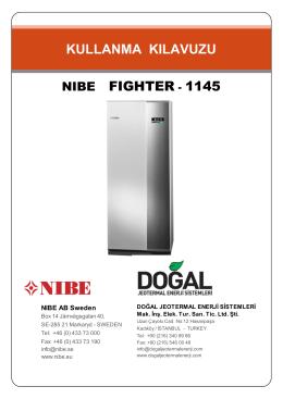 NIBE F1145 Kullanım Kılavuzları -TR