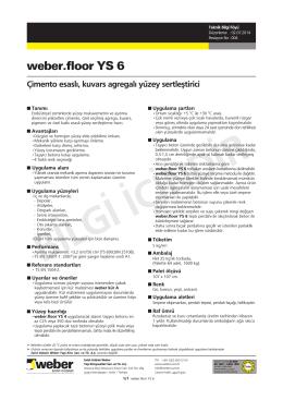 weber.Floor YS 6