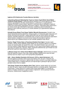 Lüksemburg Ekonomi Bakanlığı-Dış Ticaret ve Yatırım Teşvik Birimi