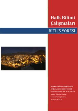 Bitlis Yöresi - İstanbul Çağdaş