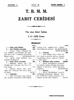 132 - Türkiye Büyük Millet Meclisi