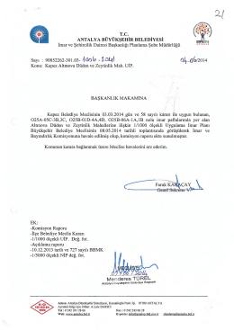 Gündemin 21.Maddesi - Antalya Belediyesi