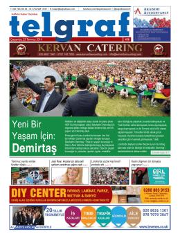 Demirtaş - Telgraf Gazetesi