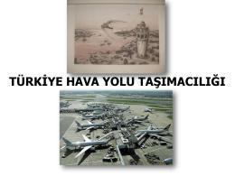 HAVA YOLU TAŞIMACILIĞI Havaalanı