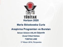 Marie Sklodowska Curie Programları Tanıtımı