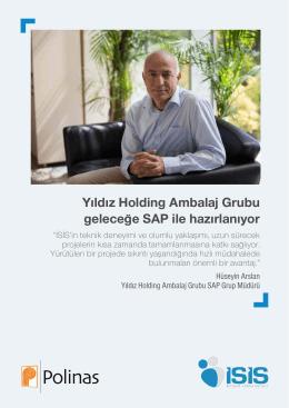 Yıldız Holding Ambalaj Grubu geleceğe SAP ile hazırlanıyor