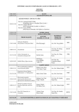 Program - Başkent Üniversitesi