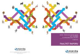 2013 Faaliyet Raporu - PERYÖN Türkiye İnsan Yönetimi Derneği