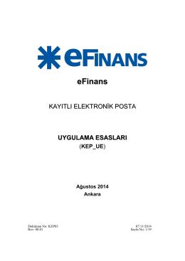 KEP_UE - eFinans