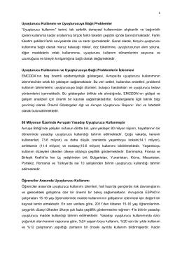 Europan Drug Report 2014 - Adli Bilimler Enstitüsü