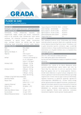FLOOR SC 640