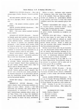 Meclisi Mebussun İ: 27 23 Haziran 1328 (1912) C : 1 BERBER YAN