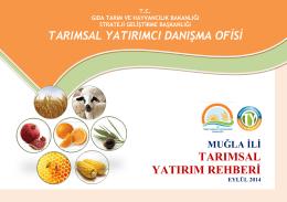 mugla - TC Gıda Tarım ve Hayvancılık Bakanlığı