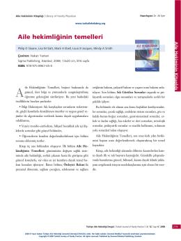 PDF - Aile hekimliğinin temelleri
