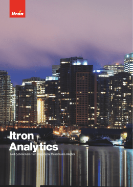 Itron Analytics