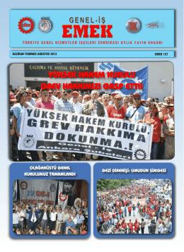 Emek Gazetesi 127. Sayı