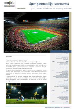 Spor İşletmeciliği: Futbol Devleri
