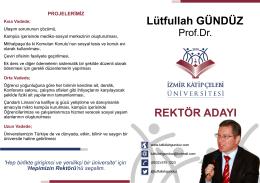 lutfullah hoca.cdr - Prof.Dr. Lütfullah GÜNDÜZ