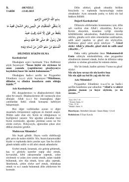 13/12/2015 Dilimize Hakim Olma
