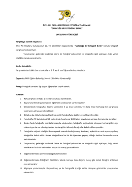 Katılım Koşulları - Özel Arı Okulları