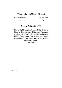 578 - Türkiye Büyük Millet Meclisi