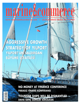 aggressıve growth strategy of yılport aggressıve growth strategy of