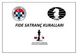 fıde satranç kuralları 2014