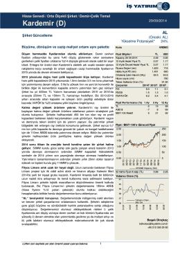 29/09/2014 - İş Yatırım