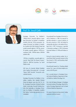 Prof. Dr. İsmail Çelik